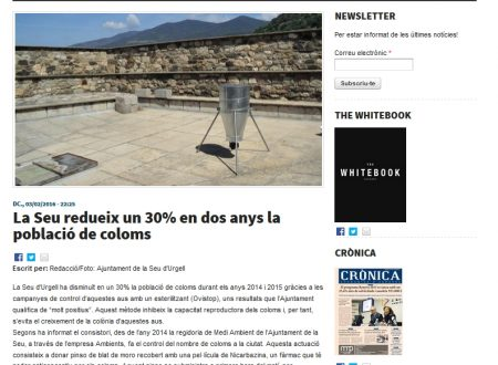 """La Spagna """"etica"""" che combatte i piccioni senza ucciderli"""